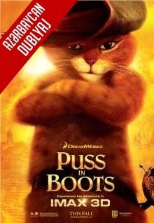 Çəkməli Pişik - Puss in Boots (2011) Azərbaycanca Du