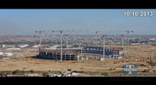 Tekfen Constrction - Baku Olympic Stadium - Timelapse