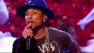 Pharrell Williams Performs 'Gust Of Wind' On The X Factor UK