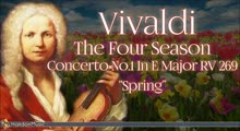 Vivaldi: The Four Seasons, Concerto No. 1 in E Major, RV 269