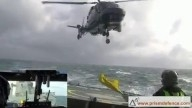 Extreme helicopter landing