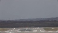 Crosswind Landings during a storm at Düsseldorf