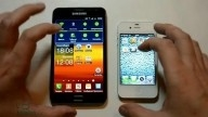 Samsung Galaxy Note vs iPhone 4S vs Sony Ericsson Xperia Neo (производительность)