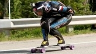 Fastest skaterboarder in the world hits 80.56mph on public road