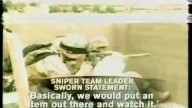 US Snipers use Baiting techniques to kill innocent Iraqis