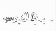 Simon's Cat in 'Cat Chat'