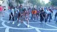 Move your body!! flashmob in Baku