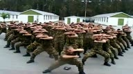 New Zealand soldiers Haka in Afghanistan