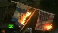 Anti-US riots video-