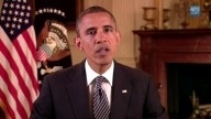 OBAMA Weekly Address- Carrying on the Work of Our Fallen Heroes