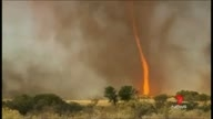 Tornado Of Fire In Australia