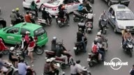 The traffic of Hanoi, Vietnam