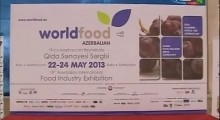 WorldFood Agrihort Ipack 2013 TV News AzTV