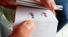Best skills of Cristiano Ronaldo in flipbook by Etoilec1