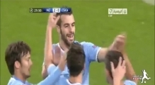 Manchester City vs CSKA Moscow 5-2 All Goals & HighLights 05.11.2013 HD